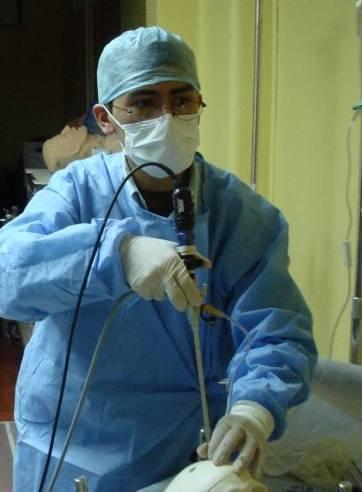Wykorzystanie endoskopu